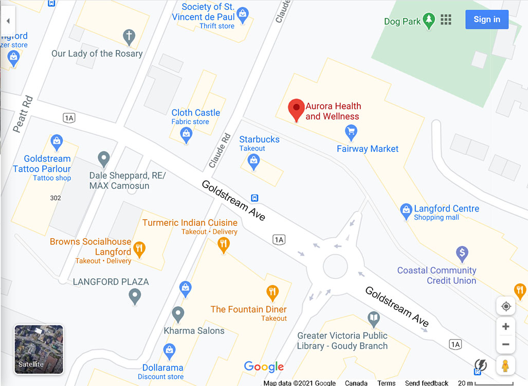 Poyntz Acupuncture Clinic Location 778 Goldstream Ave Langford BC